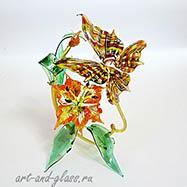 Композиция  бабочка