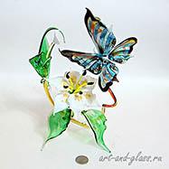 Композиция бабочка.